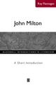 John Milton: A Short Introduction (0631226206) cover image