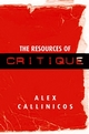 The Resources of Critique (0745631606) cover image