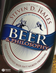 Beer and Philosophy: The Unexamined Beer Isn't Worth Drinking (1405154306) cover image