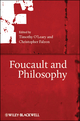 Foucault and Philosophy (1405189606) cover image