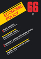 Economic Policy 66 (1444338706) cover image