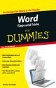 Word Tipps und Tricks für Dummies (3527694706) cover image