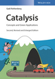 Catalysis: Concepts and Green Applications, 2nd Edition (3527808906) cover image