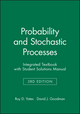 Probability and Stochastic Processes with Solutions Manual, Enhanced eText, 3rd Edition (EHEP002906) cover image