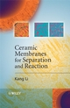 Ceramic Membranes for Separation and Reaction (0470014407) cover image