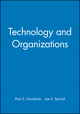 Technology and Organizations (0470639407) cover image