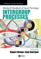 Blackwell Handbook of Social Psychology: Intergroup Processes (0470692707) cover image