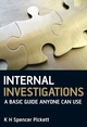 Internal Investigations: A Basic Guide Anyone Can Use (0470743107) cover image