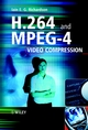 H.264 and MPEG-4 Video Compression: Video Coding for Next-generation Multimedia (0470869607) cover image