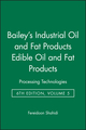 Bailey's Industrial Oil and Fat Products, 6 Volume Set, 6th Edition (0471384607) cover image