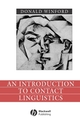 An Introduction to Contact Linguistics (0631212507) cover image