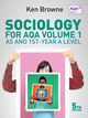 Sociology for AQA Volume 1: AS and 1st-Year A Level, 5th Edition (0745691307) cover image
