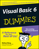 Visual Basic6 For Dummies  (0764503707) cover image