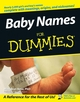 Baby Names For Dummies (0764543407) cover image
