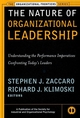 The Nature of Organizational Leadership: Understanding the Performance Imperatives Confronting Today's Leaders (0787952907) cover image