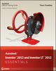 Autodesk Inventor 2012 and Inventor LT 2012 Essentials (1118016807) cover image