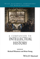 A Companion to Intellectual History (1118294807) cover image