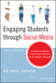 Engaging Students through Social Media: Evidence-Based Practices for Use in Student Affairs (1118903307) cover image