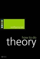How to Do Theory (1405115807) cover image