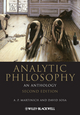 Analytic Philosophy: An Anthology, 2nd Edition (1444335707) cover image