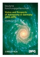Status and Prospects of Astronomy in Germany 2003-2016: Memorandum (3527319107) cover image