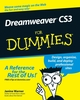 Dreamweaver CS3 For Dummies (0470114908) cover image
