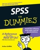 SPSS For Dummies (0470169508) cover image