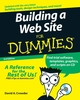 Building a Web Site For Dummies, 3rd Edition (0470231408) cover image