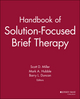 Handbook of Solution-Focused Brief Therapy (0470505508) cover image
