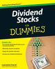 Dividend Stocks For Dummies (0470635908) cover image