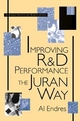 Improving R&D Performance: The Juran Way (0471163708) cover image