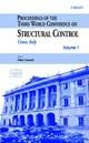 Proceedings of the Third World Conference on Structural Control (0471489808) cover image