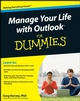 Manage Your Life with Outlook For Dummies (0471959308) cover image