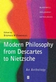 Modern Philosophy - From Descartes to Nietzsche: An Anthology (0631214208) cover image