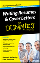 Writing Resumes and Cover Letters For Dummies - Australia / NZ, 2nd Australian and New Zealand Edition (0730307808) cover image