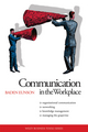 Communication in the Workplace (0731406508) cover image