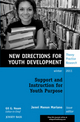 Support and Instruction for Youth Purpose: New Directions for Youth Development, Number 132 (1118253108) cover image