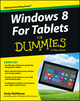 Windows For Tablets For Dummies (1118401808) cover image