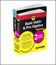 Basic Math and Pre-Algebra Workbook For Dummies & Basic Math and Pre-Algebra For Dummies Bundle (1119387108) cover image