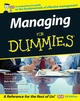 Managing For Dummies, UK Edition (1119992508) cover image