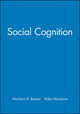 Social Cognition (1405110708) cover image