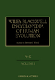 Wiley-Blackwell Encyclopedia of Human Evolution, 2 Volume Set (1405155108) cover image