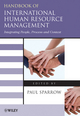 Handbook of International Human Resource Management: Integrating People, Process, and Context (1405167408) cover image