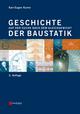 Geschichte der Baustatik: Auf der Suche nach dem Gleichgewicht, 2. Auflage (3433607508) cover image