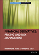 Financial Derivatives: Pricing and Risk Management  (0470499109) cover image