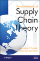 Fundamentals of Supply Chain Theory (0470521309) cover image