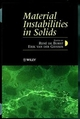 Material Instabilities in Solids (0471974609) cover image