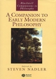 A Companion to Early Modern Philosophy (0631218009) cover image