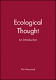 Ecological Thought: An Introduction (0745613209) cover image