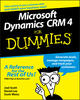 Microsoft Dynamics CRM 4 For Dummies (1118052609) cover image